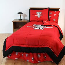 NCAA Texas Tech Bed in a Bag - With White Sheets