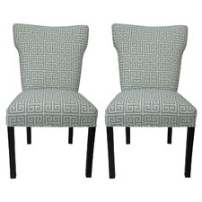 Melrose Chain Cotton Side Chair (Set of 2) by Sole Designs
