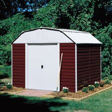 Barn 10 ft. W x 14 ft. D Metal Storage Shed