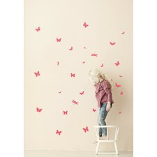 Mini Butterflies Wall Decal