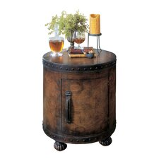 Heritage Old World Map End Table by Butler