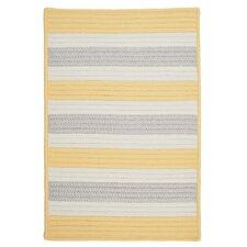 Stripe It Yellow Shimmer Indoor/Outdoor Rug