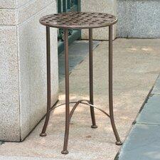 Mandalay 16-inch Iron Patio Side Table