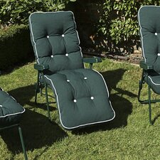 Milan Sun Lounger with Cushion