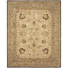 Anatolia Ivory/Brown Area Rug