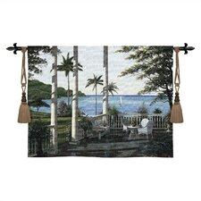 Cityscape, Landscape, Seascape Carribean Comfort Tapestry