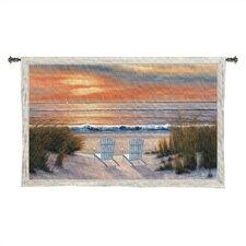 Cityscape, Landscape, Seascape Paradise Sun Tapestry