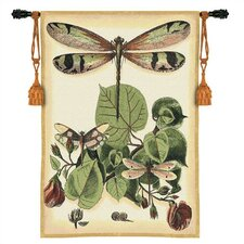 Abstract Whimsical Dragonfly II Tapestry