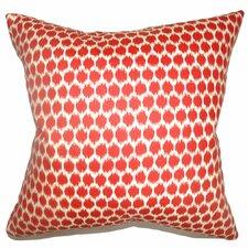 Daile Spots Cotton Throw Pillow