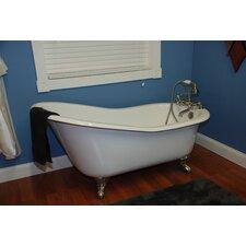 67.25 x 22.25 Baron Slipper  Bathtub by Cambridge Plumbing