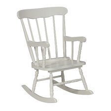 Everett Kids Rocking Chair and Ottoman with Storage Compartment