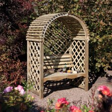 Victoria 2 Seater Timber Arbour