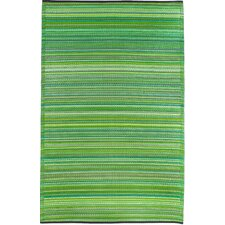 Cancun World Green Indoor / Outdoor Area Rug
