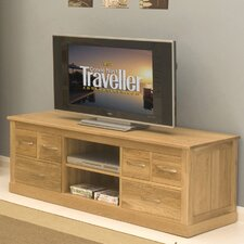 Mobel Oak TV Stand for TVs up to 62""