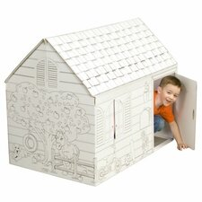 Hide and Seek with Washable Markers Playhouse