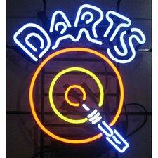 Bar & Game Room Darts Neon Sign