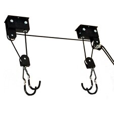 Signature Series Up and Away Hoist Ceiling Mounted Bike Rack
