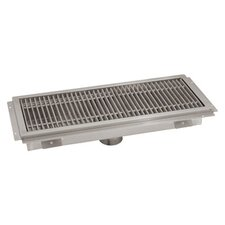 Floor Trough Grid Shower Drain by Advance Tabco