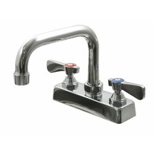 Deck Mount D Spout Spray Faucet