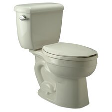 High Performance 1.6 GPF Elongated Two-Piece Toilet