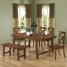 Tyler 6 Piece Dining Set by Wildon Home