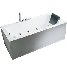 Platinum 59 x 31.5 Whirlpool Bathtub by Ariel Bath