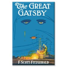 The Great Gatsby Graphic Art on Wrapped Canvas