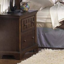 Casual Traditions 2 Drawer Nightstand by Progressive Furniture Inc.
