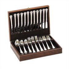 Promotional Brown Silverware Chest with Brown Lining
