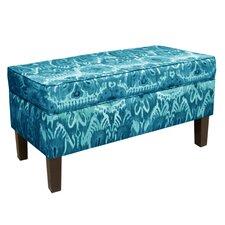 Storage Fabric Storage Bedroom Bench by Skyline Furniture
