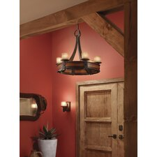 Madera 6-Light Shaded Chandelier
