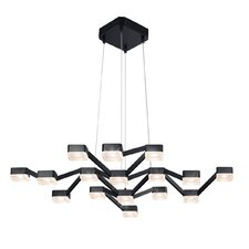 Lattice 16-Light Geometric Pendant