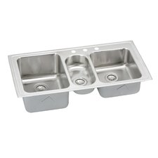 elkay - Three Compartment Kitchen Sink