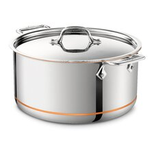 Copper Core Stock Pot with Lid
