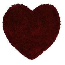 Senses Shag Heart Red Arera Rug