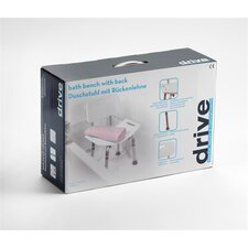 Deluxe Adjustable Shower Chair