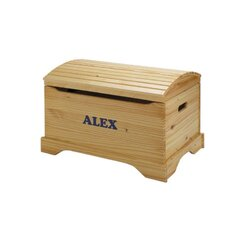 Personalized Captains Chest Toy Box by Little Colorado