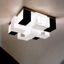 Domino 9-Light Flush Mount