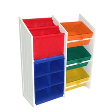 Folding 6 Compartment Cubby