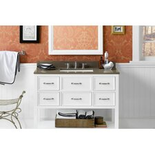 Newcastle 43 Single Bathroom Vanity Set with Mirror by Ronbow