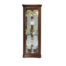 QUICK VIEW. Concave Corner Curio Cabinet