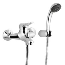 Wall Mounted Tub Filler Trim with Hand Shower