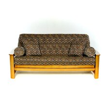Mosaic Futon Slipcover  by Lifestyle Covers