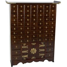 Korean 69 Drawer Apothecary Chest by Oriental Furniture