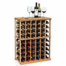N'finity 54 Bottle Floor Wine Rack