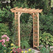 Cedar Rosedale Wood Arbor