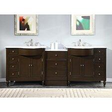 Kelston 95 Double Bathroom Vanity Set by Silkroad Exclusive