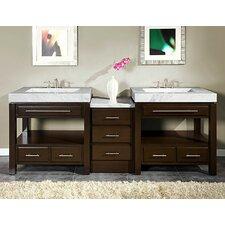Stanton 92 Double Bathroom Vanity Set by Silkroad Exclusive
