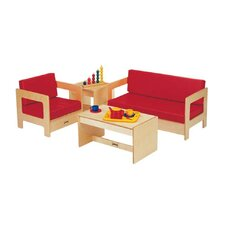 Kids 4 Piece Table and Chair Set