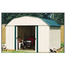 Sheridan 10 ft. W x 14 ft. D Metal Storage Shed